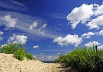 Krajobraz nadmorski, Morze bałtyckie w Świnoujściu